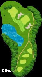 ザ・クラシックゴルフ倶楽部クイーンコース 8番ホール