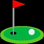 ゴルフ-グリーン-イラスト
