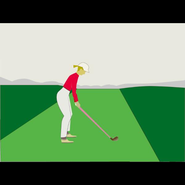 ゴルフ-セットアップ