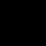 ゴルフ-スウィング(男性)-イラスト